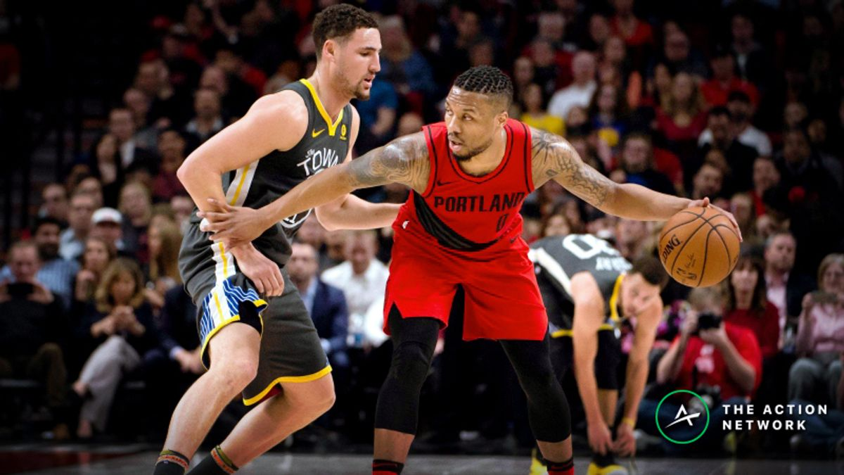 Warriors-Blazers Betting Preview: Fade Golden State on Back-to-Back? article feature image