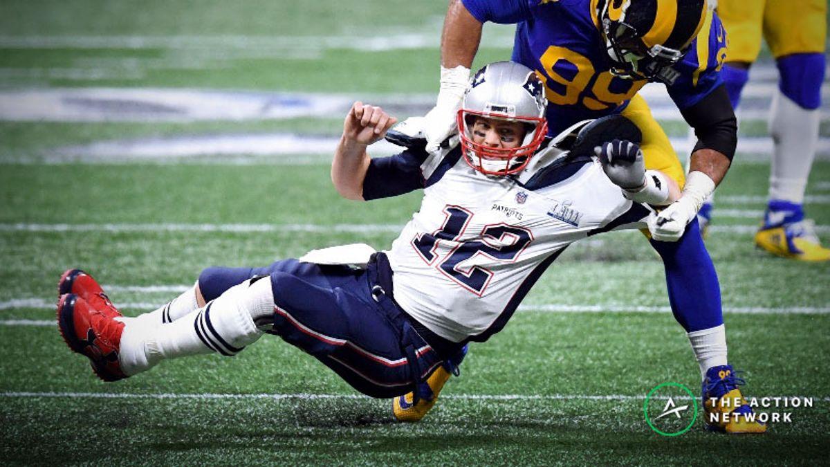 History Against Patriots-Rams Super Bowl 54 Rematch article feature image