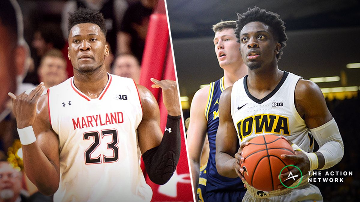 Tuesday's College Basketball Betting Previews: Maryland-Iowa, Nebraska-Penn State article feature image