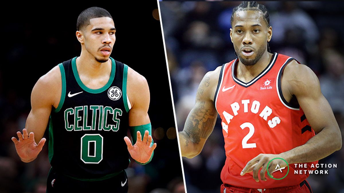 Celtics-Raptors Betting Preview: Is Boston Overvalued on the Road? article feature image
