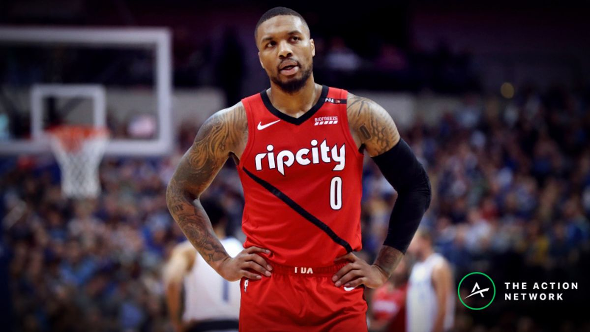 Warriors vs. Blazers Game 2 Betting Preview: Bank on a Blazers Bounceback? article feature image