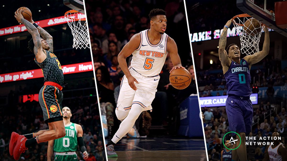 Our Staff's Favorite Bets for the 2019 NBA Dunk Contest article feature image