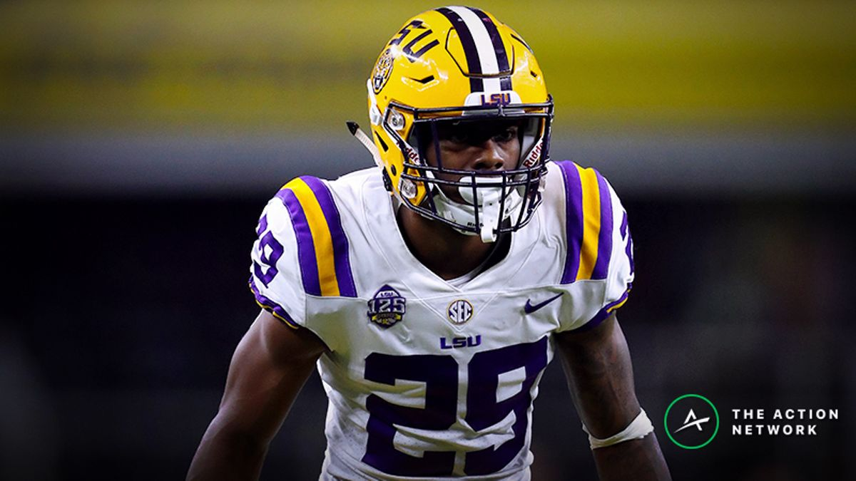 Greedy Williams NFL Combine Prop Bet: Over/Under 4.36-Second 40 for Draft's Best Corner? article feature image