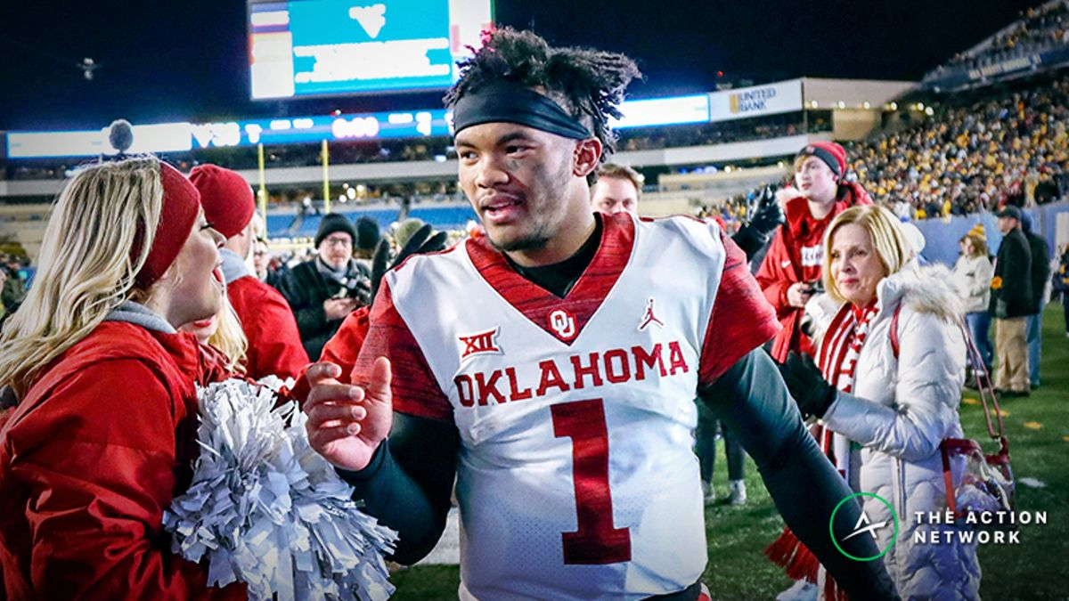 Kyler Murray NFL Draft Betting Odds Predict When He'll Be Picked, Future Team article feature image