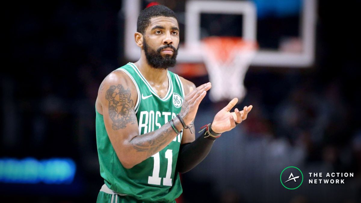 Phan: How Kyrie Irving's Absence Is Impacting My Celtics-76ers Bets article feature image