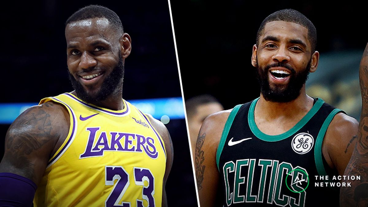 Wob's Guide to Watching the NBA All-Star Game: LeBron, Kyrie and All the Conspiracies! article feature image