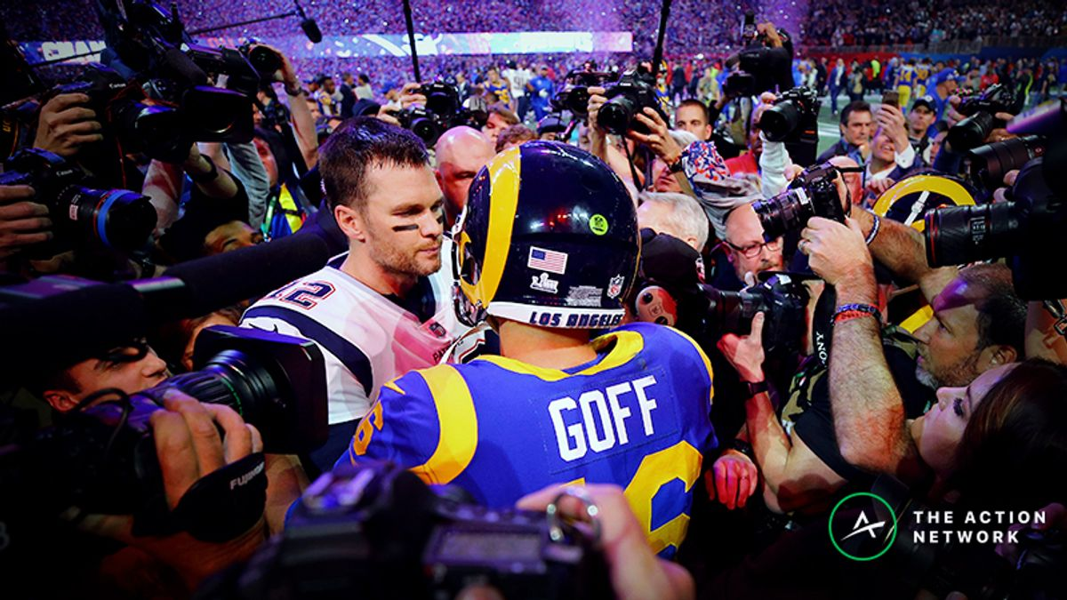 Freedman's Favorite NFL Futures Bets: Will Patriots or Rams Play in Super Bowl 54? article feature image