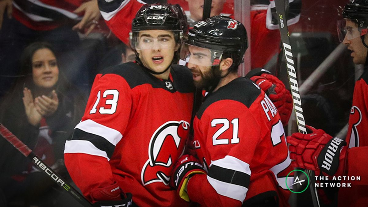 Freedman's Favorite NHL Matchup (Feb. 5): Will Nico Hischier or Kyle Palmieri Score More Points? article feature image