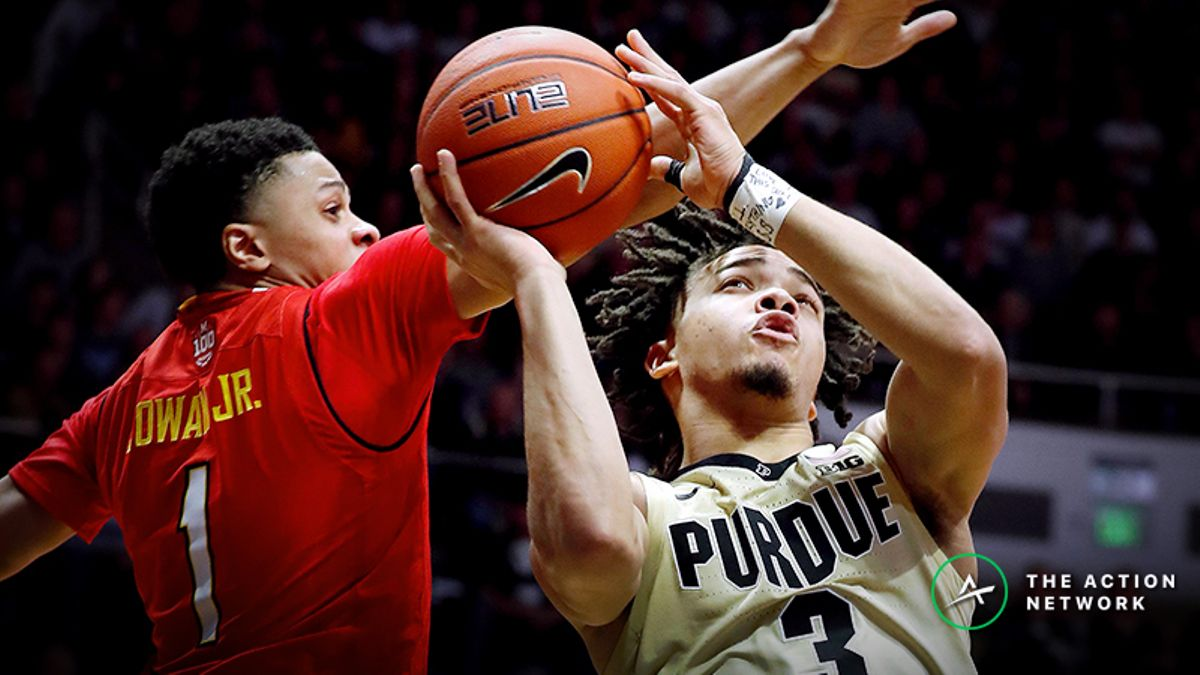 Tuesday's College Basketball Betting Previews: Purdue-Maryland, St. Bonaventure-Saint Joseph's article feature image