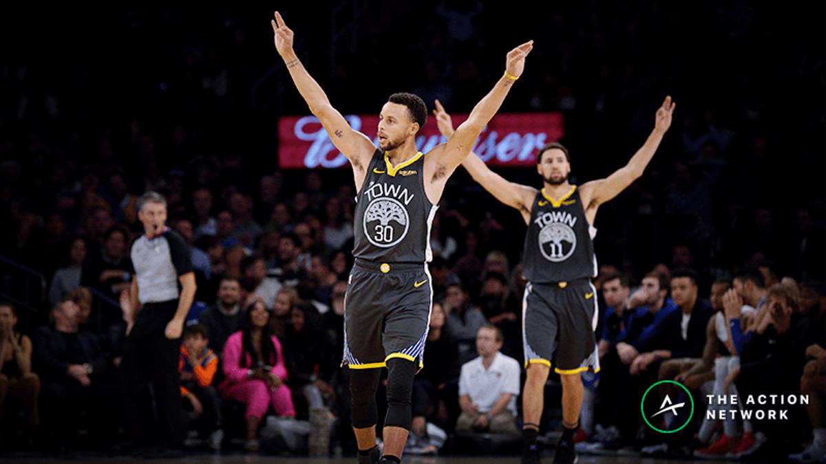 The Warriors Letdown Effect: How NBA Teams Struggle ATS After Playing Golden State article feature image