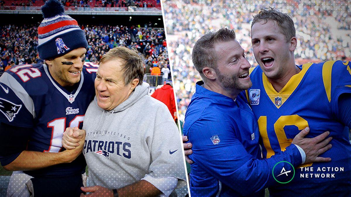 Mega Super Bowl 53 Cheat Sheet: Patriots-Rams Betting Picks, Props, More article feature image
