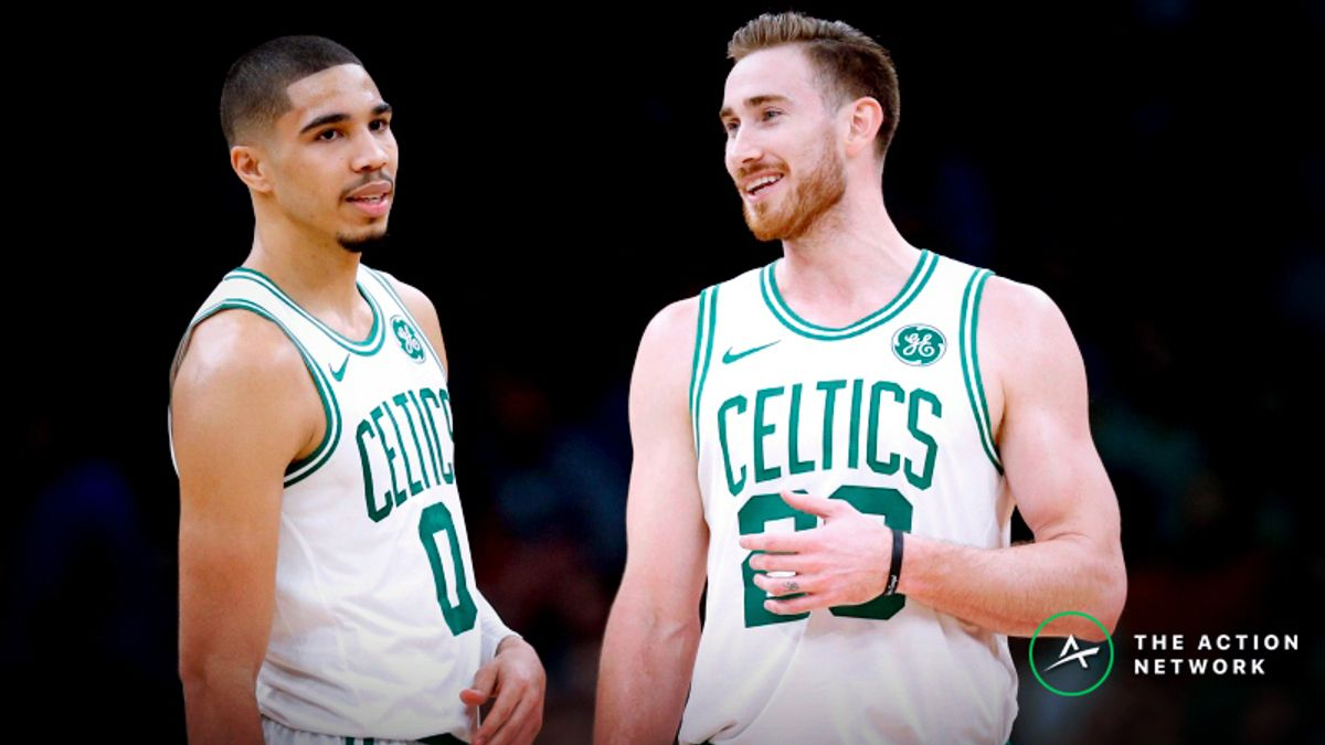 Celtics-76ers Betting Preview: Is Boston Overvalued Without Kyrie? article feature image