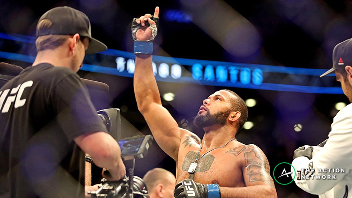 UFC Fight Night 145 Odds: Thiago Santos Favored Over Jan Blachowicz article feature image