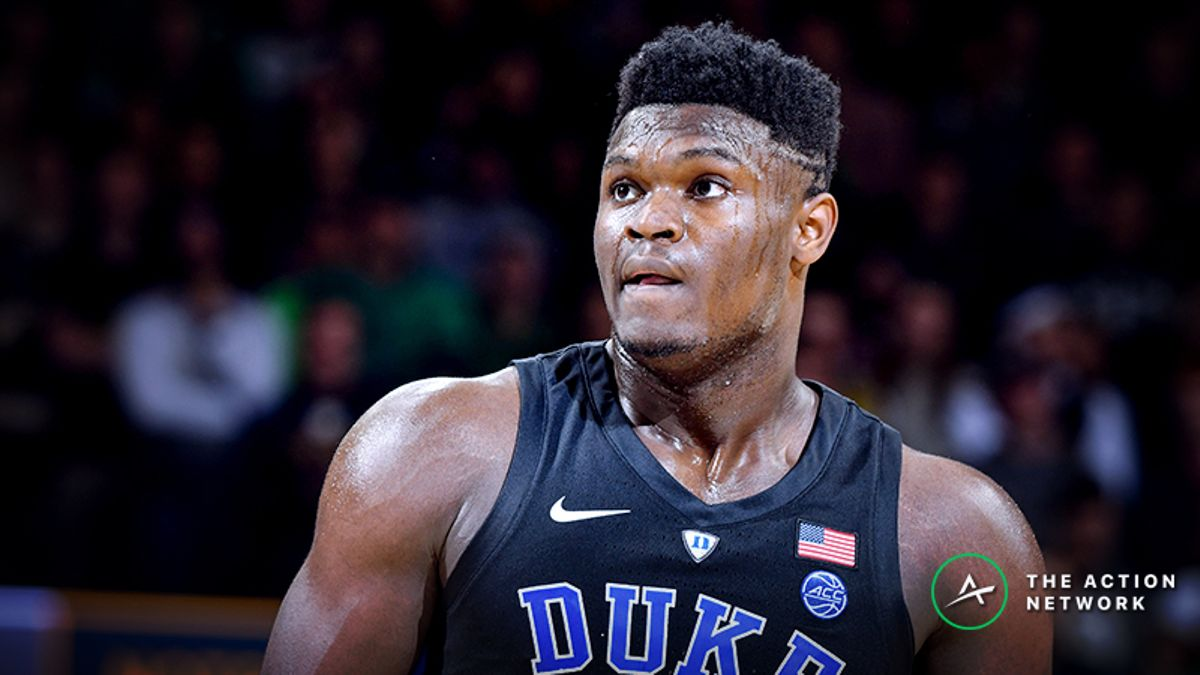 How Much Would Zion Williamson Be Worth Toward an NBA Point Spread? article feature image
