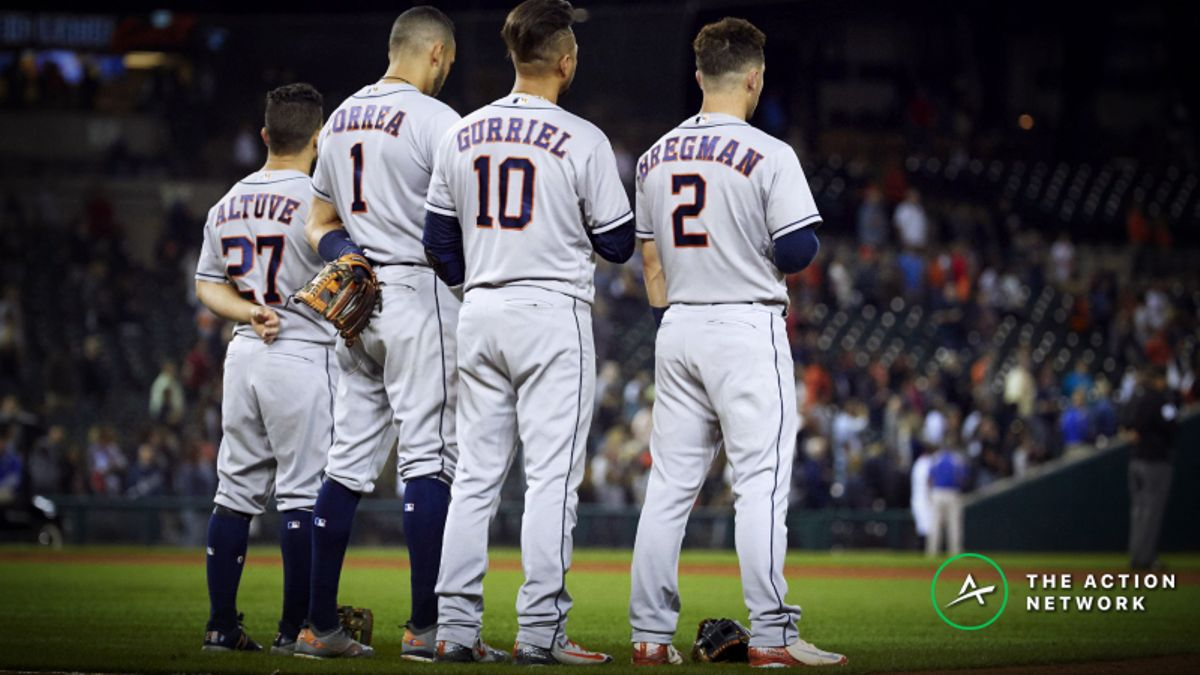 Houston Astros 2019 Betting Odds, Preview: Expect Continued Excellence Despite Veteran Losses article feature image