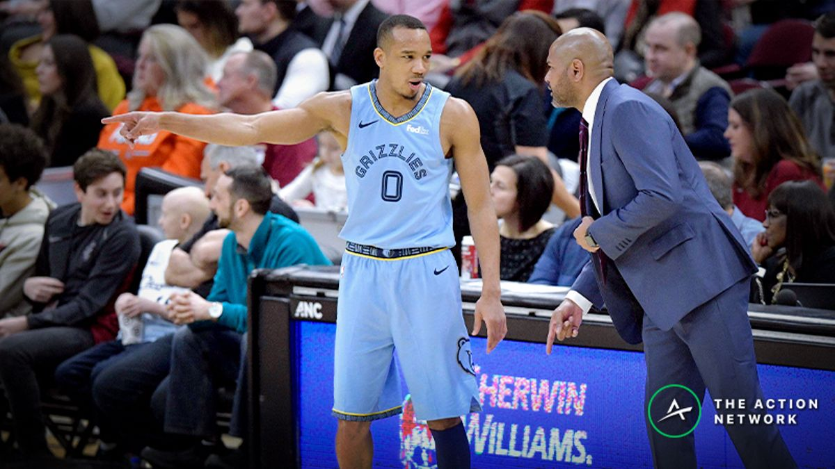 Raybon's Favorite NBA Player Props for Monday: Avery Bradley Over/Under 12.5 Points? article feature image