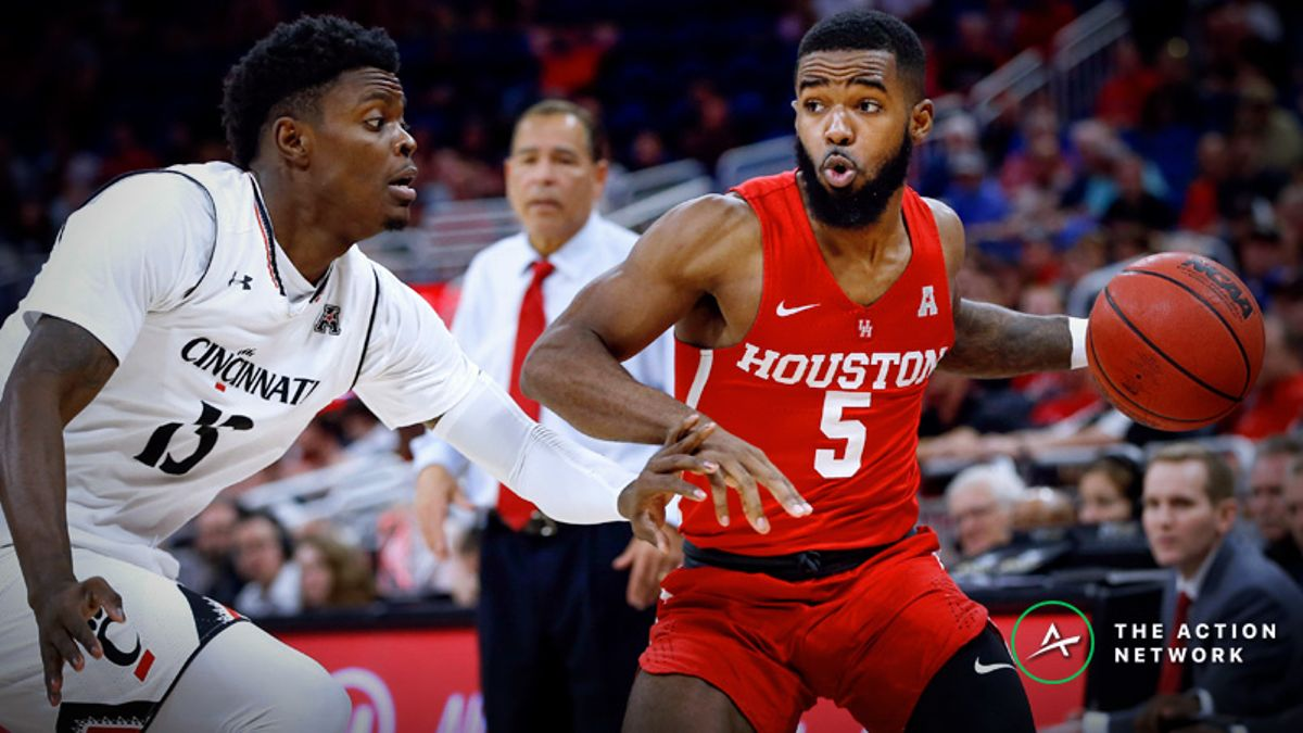 Cincinnati-Houston Betting Preview: Which Team Grabs Control of AAC? article feature image