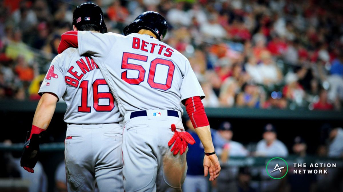 Boston Red Sox 2019 Betting Odds, Preview: Will the Reigning Champs Win the AL East? article feature image