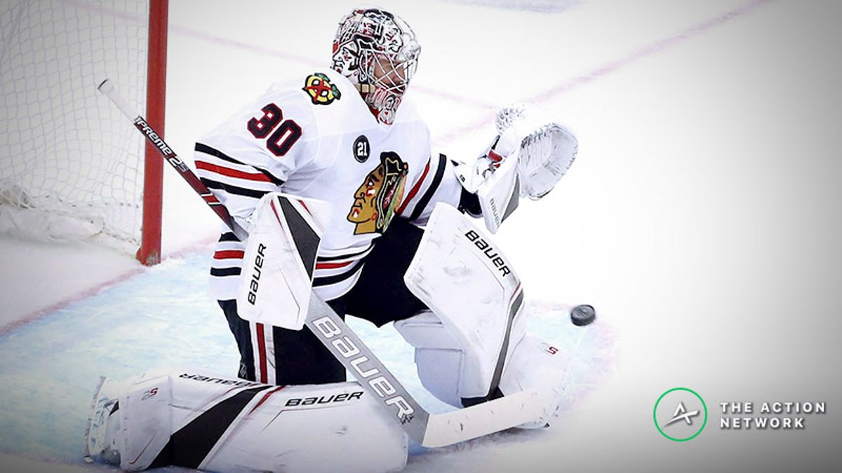 Freedman's Favorite NHL Prop Bet (Feb. 1): Will Cam Ward Make 31 Saves? article feature image
