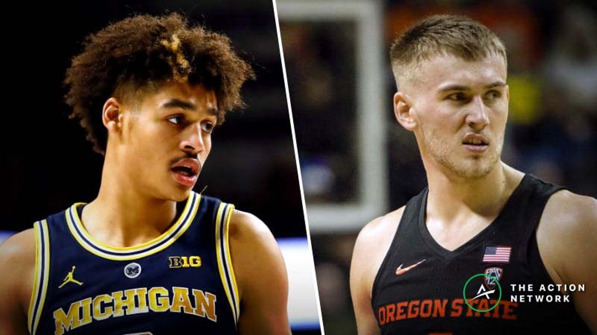 Thursday College Basketball Betting: Nebraska-Michigan, Arizona-Oregon State article feature image