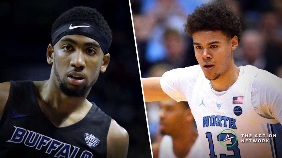 Tuesday College Basketball Betting: Syracuse-North Carolina, Akron-Buffalo article feature image