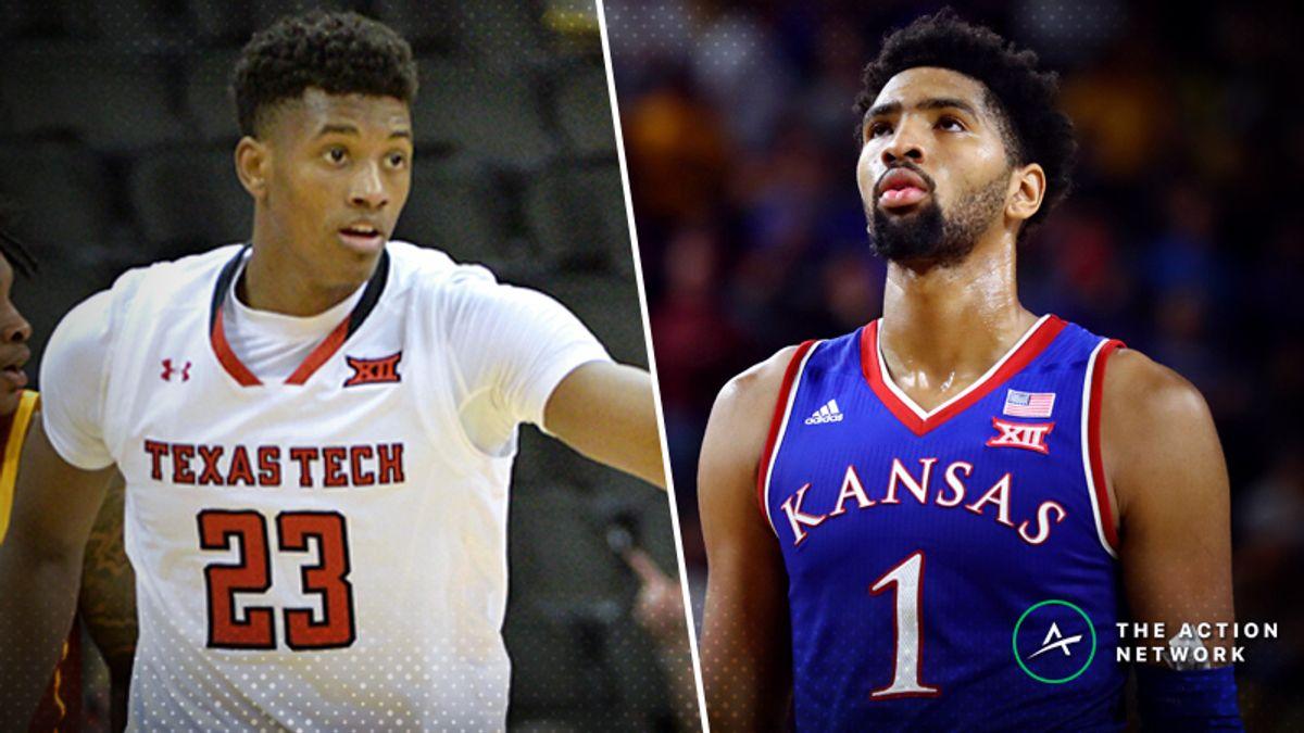 Saturday's College Basketball Betting Previews: Texas Tech-Kansas, Nebraska-Illinois article feature image