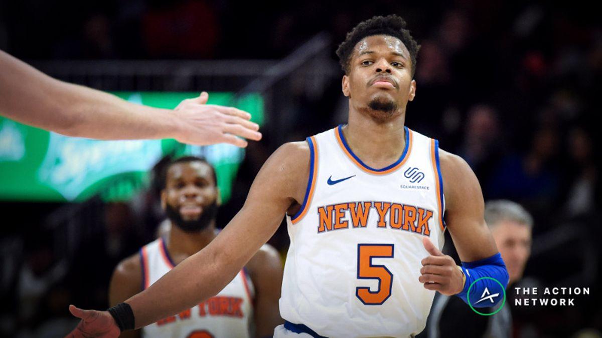 NBA Sharp Report: Timberwolves-Knicks Among 3 Games Drawing Smart Money article feature image