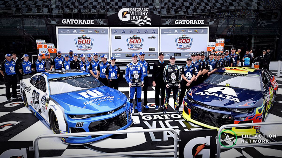 Walsh: My Favorite Bet for Thursday's NASCAR Duel Races at Daytona article feature image