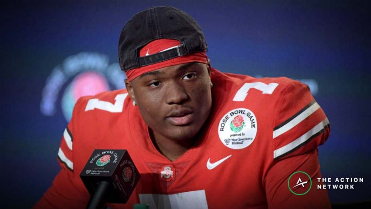 Dwayne Haskins NFL Combine Prop Bets: 40-Yard Dash and Vertical Jump article feature image