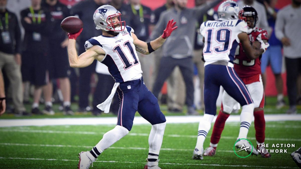 Freedman's Favorite Super Bowl 53 Passing Prop Bet: Will a Non-Quarterback Throw a Touchdown? article feature image