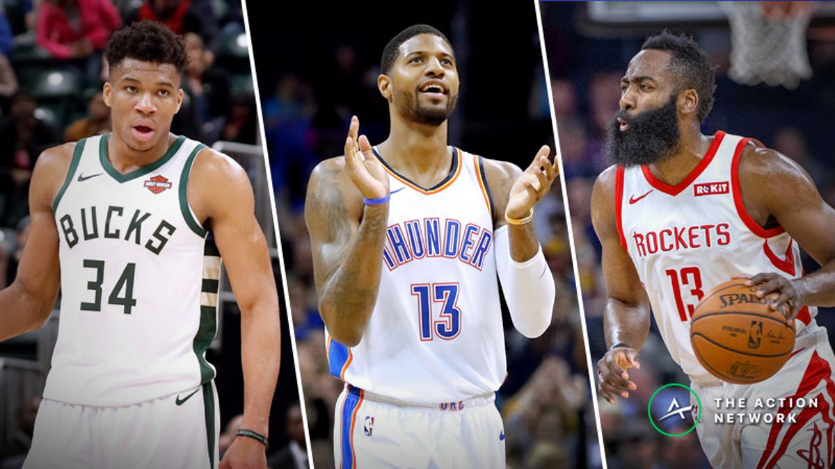 NBA MVP Straw Poll: Giannis Antetokounmpo Represents Best Value as Odds Move article feature image