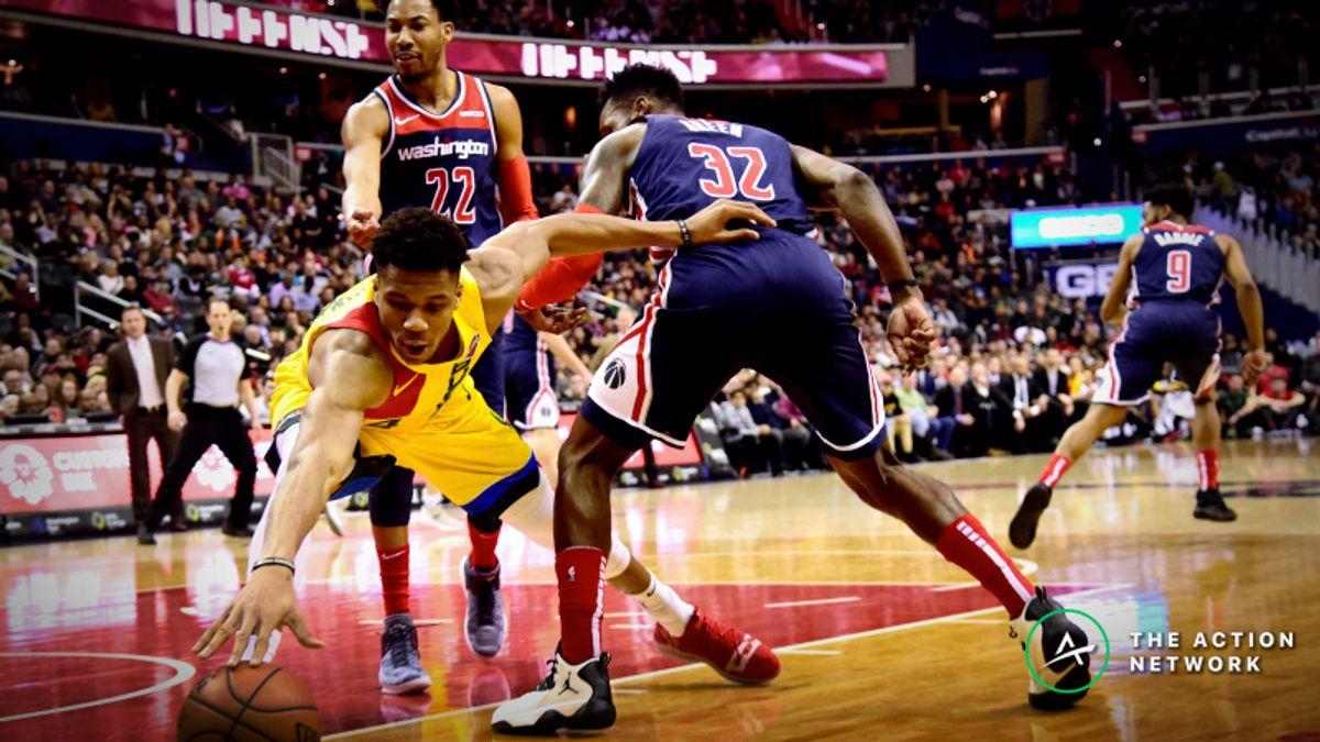 NBA Sharp Report: Wizards-Bucks Among 3 Wednesday Games Drawing Smart Money article feature image