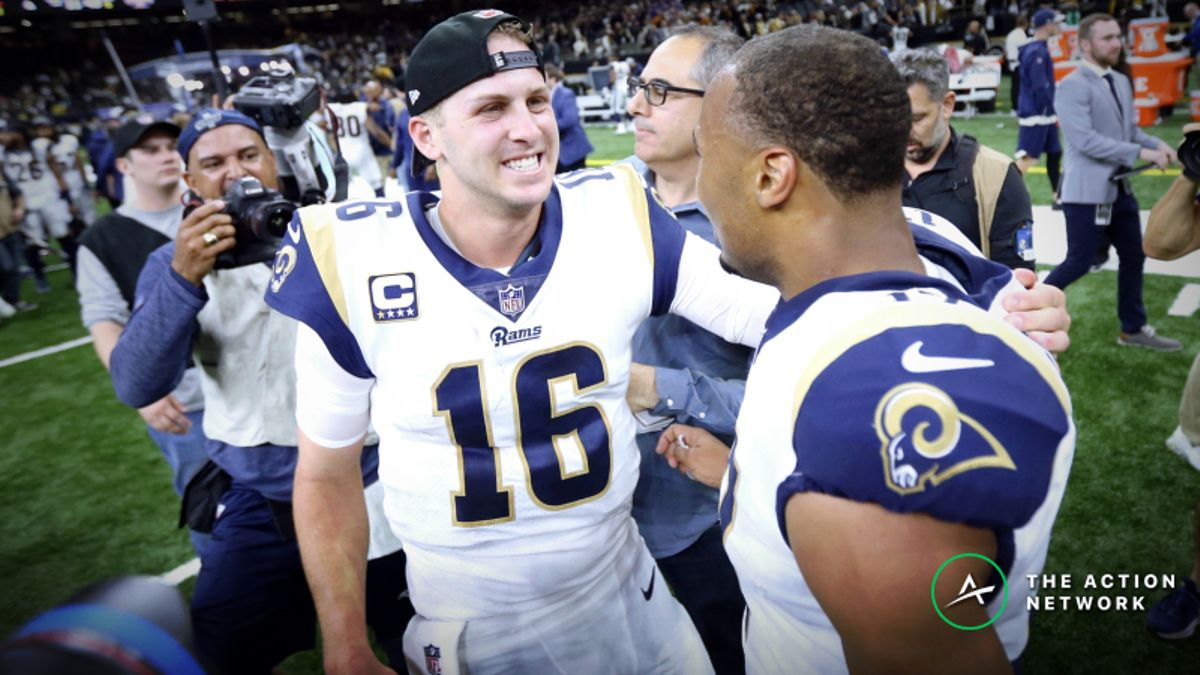 Super Bowl 53 Sharp Money: Late Professional Action Hitting Los Angeles Rams article feature image