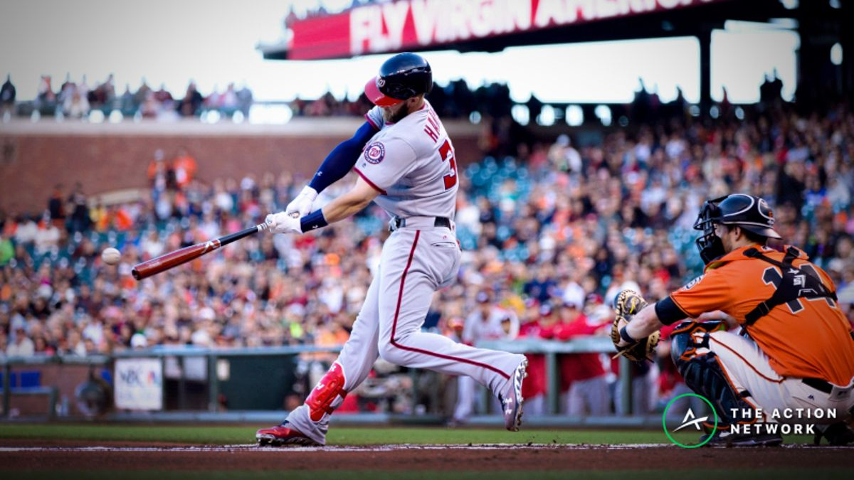 Bryce Harper Free Agency Odds: Giants Favored to Land Superstar Outfielder article feature image