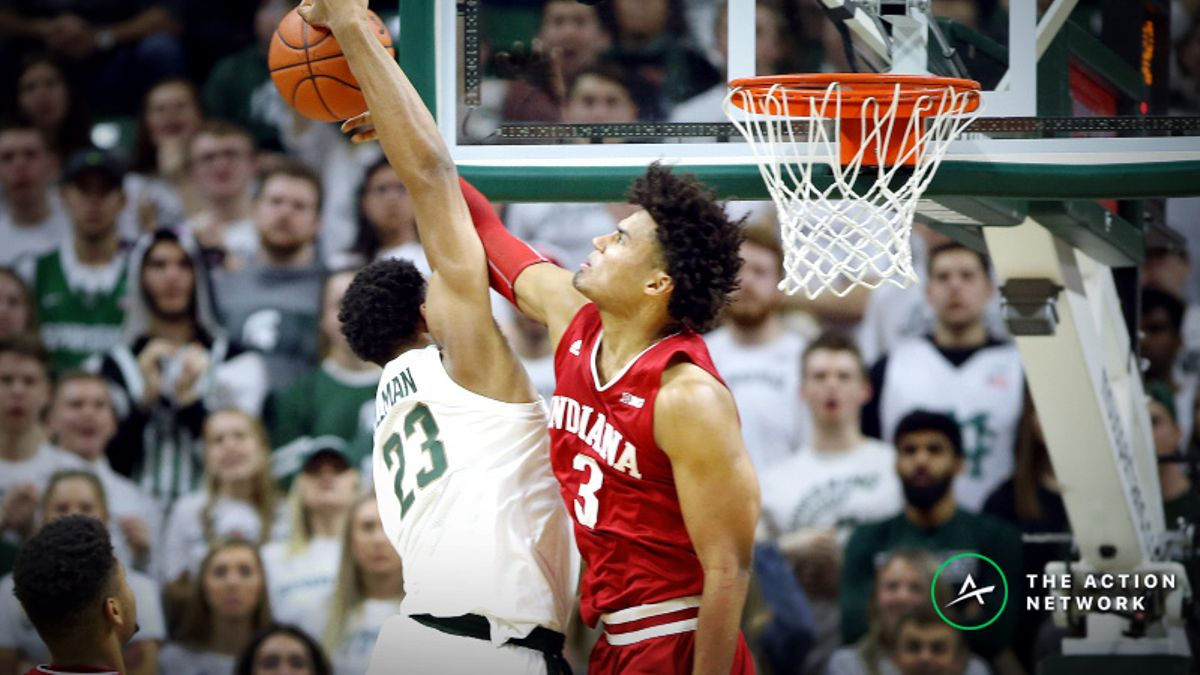 College Basketball National Championship Contenders: Spartans Stumble Against Indiana article feature image