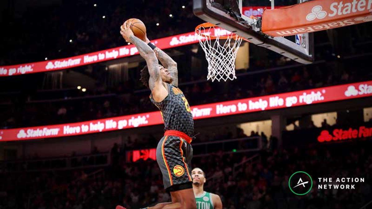 2019 NBA Slam Dunk Contest Odds: Dennis Smith Jr. Favored Over Collins, Bridges article feature image