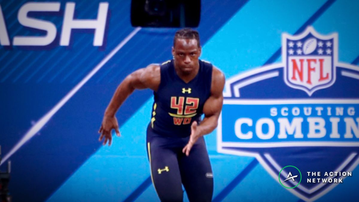 2019 NFL Combine Props: What Will Be the Fastest 40-Yard Dash? article feature image