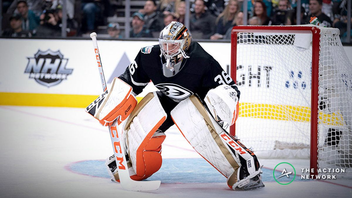 Ducks-Jets Betting Preview: Can John Gibson Keep Anaheim in Another Game? article feature image