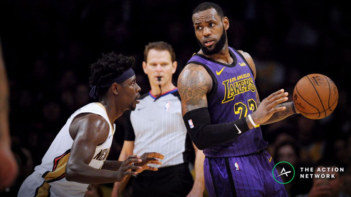 Pelicans-Lakers Betting Preview: Trust LeBron James and Co. at Home? article feature image
