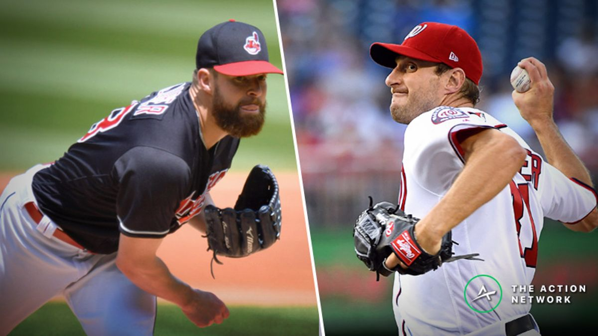 MLB Cy Young Vegas Odds: Corey Kluber, Max Scherzer Top Arms Entering 2019 article feature image