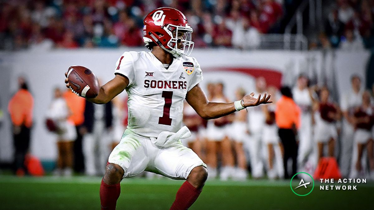 2019 NFL Combine Props: How Fast Will Kyler Murray Run? article feature image