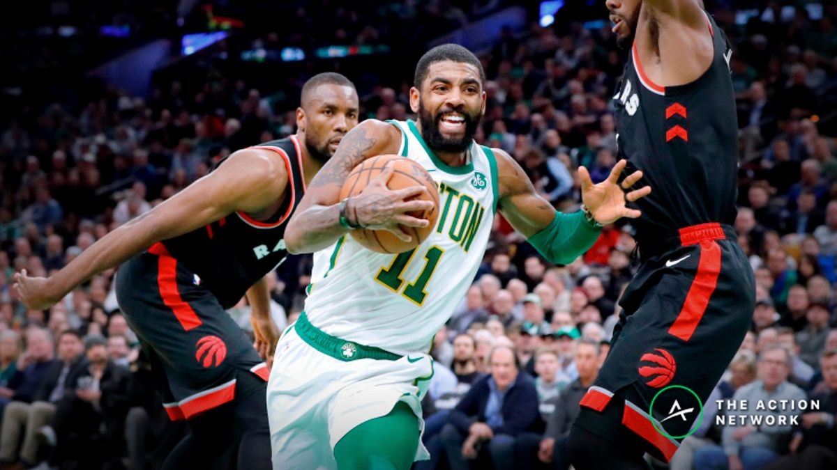 How Pros Are Betting Celtics-Raptors Tuesday Night article feature image