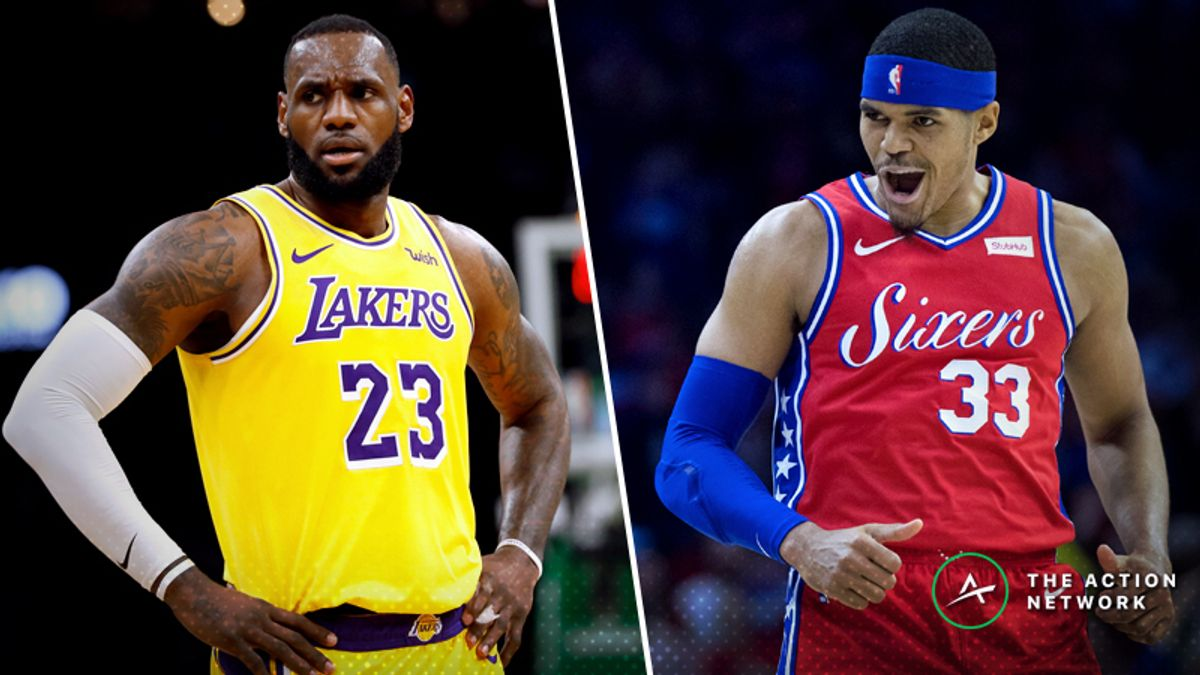 Lakers-76ers Betting Preview: Will New-Look Philly Keep Things Rolling? article feature image