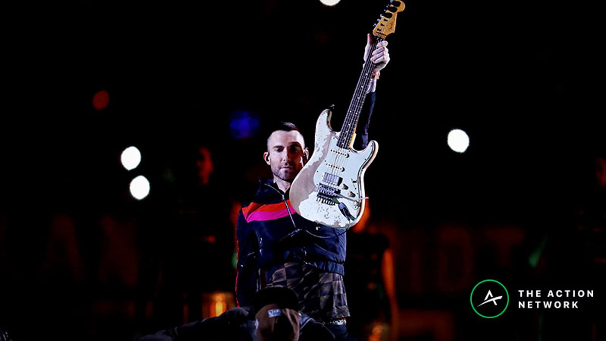 Super Bowl 53 Halftime Prop Bet Results: First Song, Adam Levine's Wardrobe, More article feature image