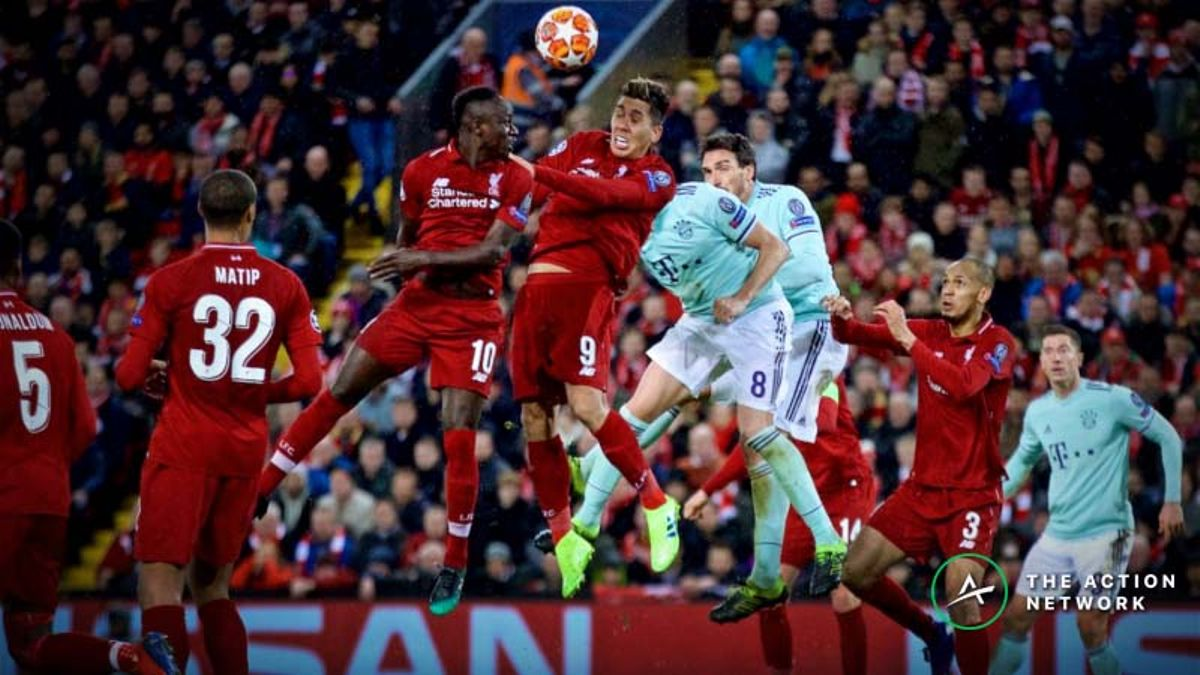 Updated Champions League Round of 16 Odds: Liverpool and Bayern Munich a Toss-Up to Advance article feature image