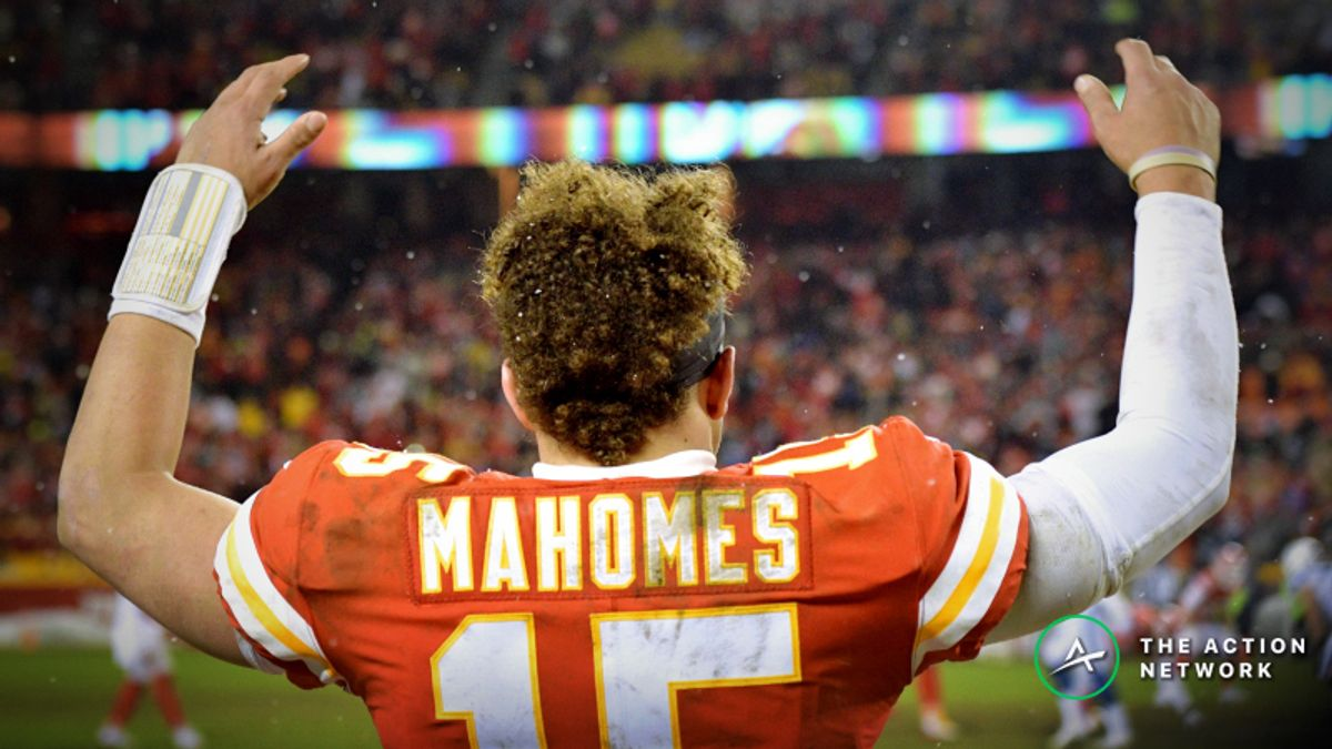 2018 NFL MVP Odds: Patrick Mahomes Favored Over Drew Brees article feature image