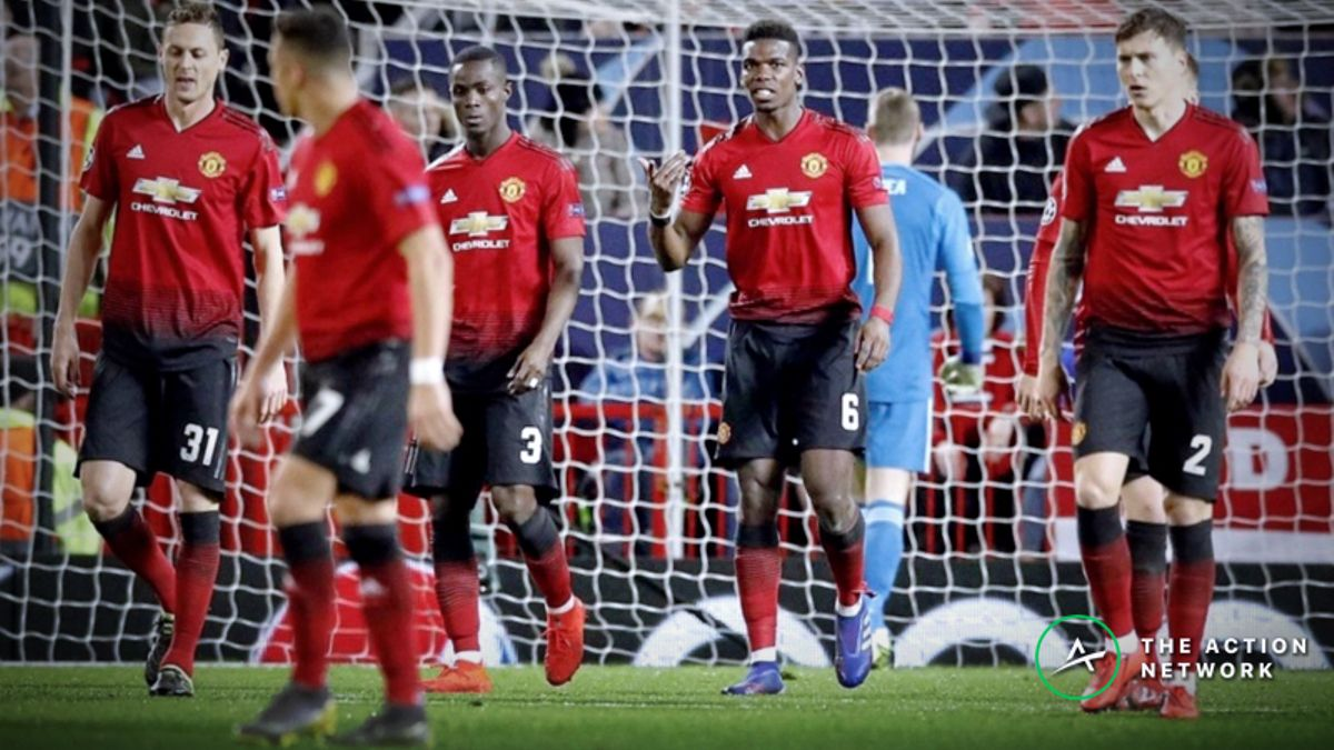 Champions League Round of 16 Update: Manchester United Now 15-1 Longshots to Advance article feature image