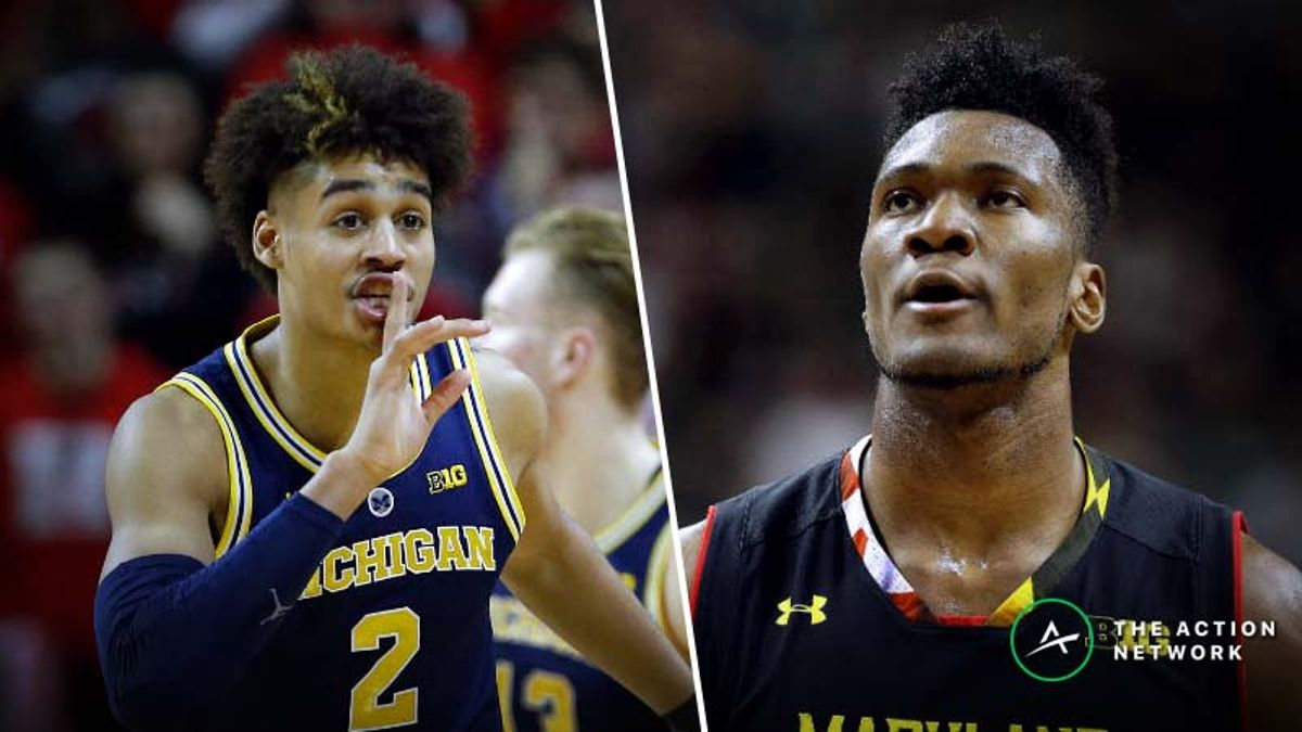 Maryland-Michigan Betting Guide: Prime Rebound Spot for Wolverines? article feature image