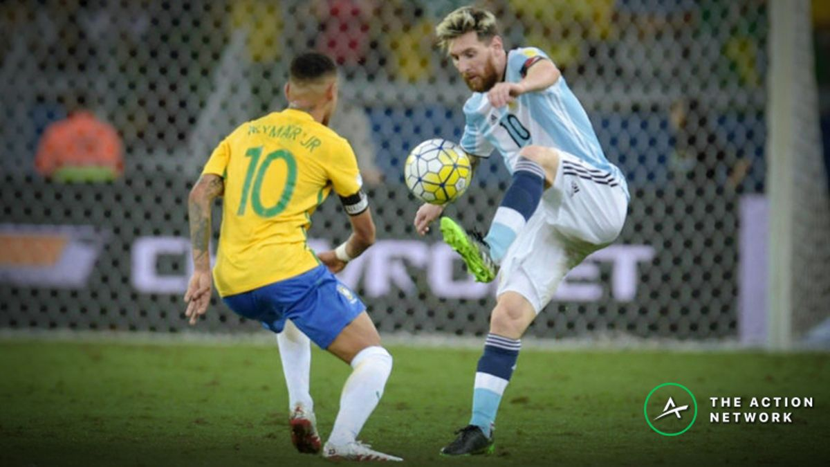 2019 Copa America Betting Odds: Brazil and Argentina Favorites to Win article feature image