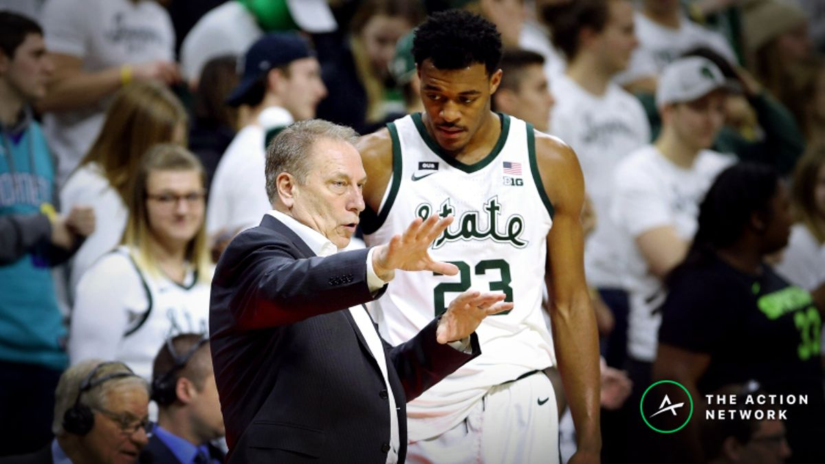 CBB Sharp Report: Wiseguys Betting Michigan State-Wisconsin, 2 Other Games article feature image